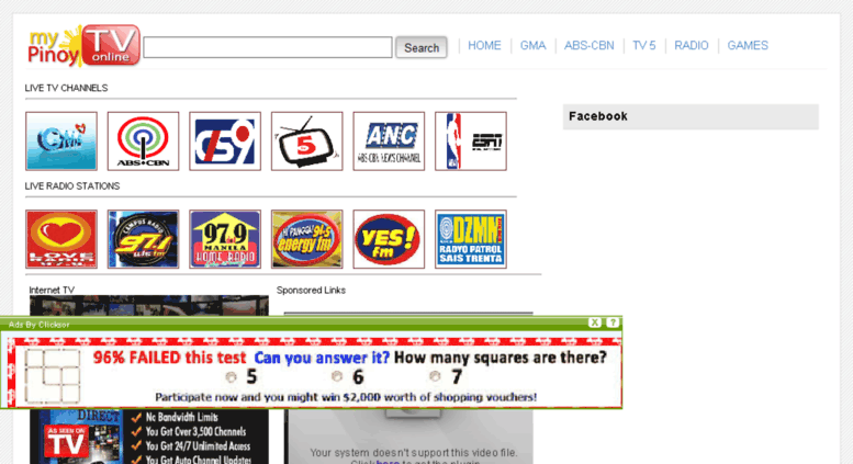 Access yourpinoytv blogspot com  Pinoy TV   Filipino TV Channels
