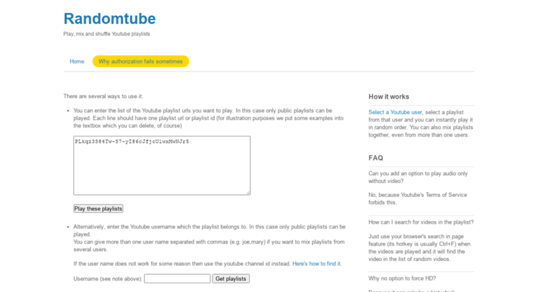Access youtube-playlist-randomizer valami info  Shuffle or