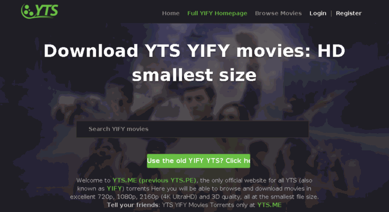 yts movies official