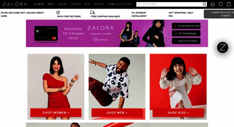 ff5f411f78568 Access zalora.com.ph. ZALORA Philippines: Online Shopping ...