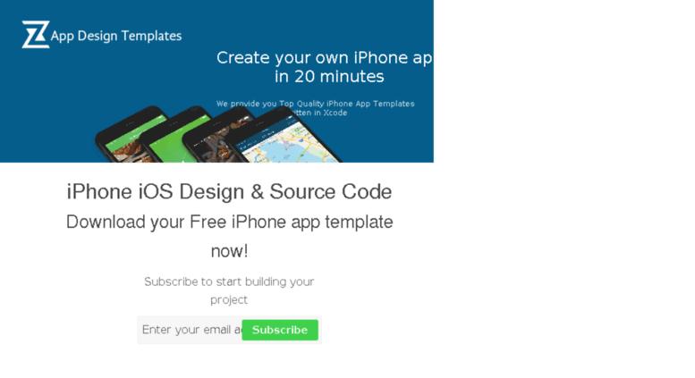 Access zap4apps com  iPhone iOS Design Source Code, Build