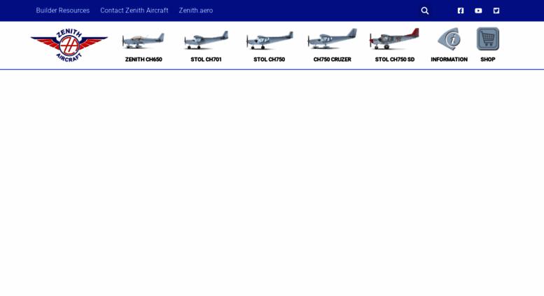 Access zenithair com  Zenith Aircraft Company